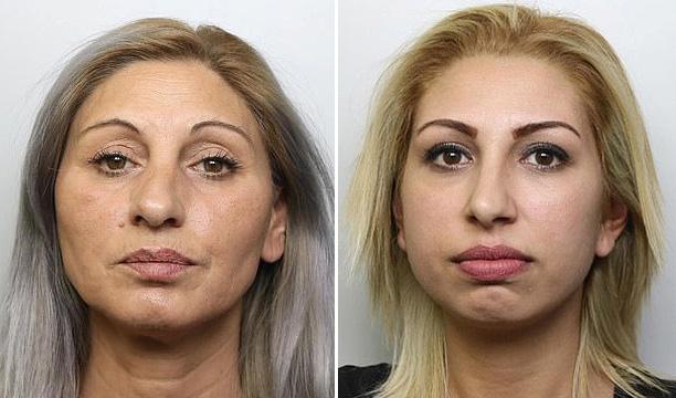 两名保加利亚女子伦敦商店内用T恤遮挡偷窃被识破