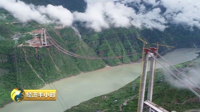又一世界奇迹!金沙江上将凌空架起悬索桥 跨度超千米!