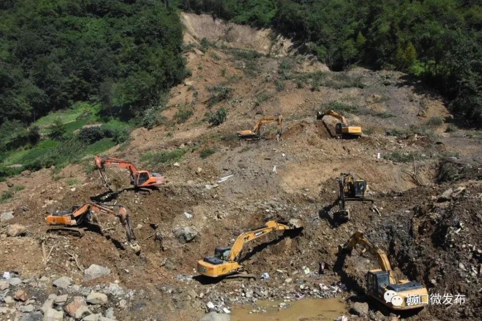 重庆城口县山体滑坡被埋7人全部