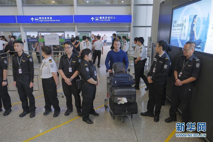 香港机管局:已取得法庭临时禁?#23631;?禁止干扰机场正常使用