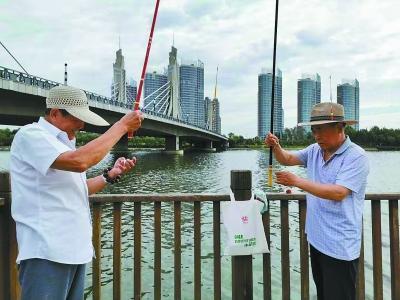 北京推出300余个垂钓区:这里可以撒欢儿钓鱼啦