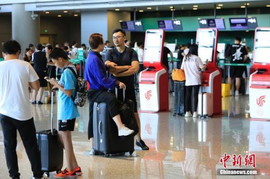 今年前7个月中国民航旅客运输量3.81亿人次