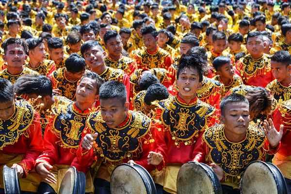 印尼迎来第74个独立日 多地民众身着节日盛装欢庆