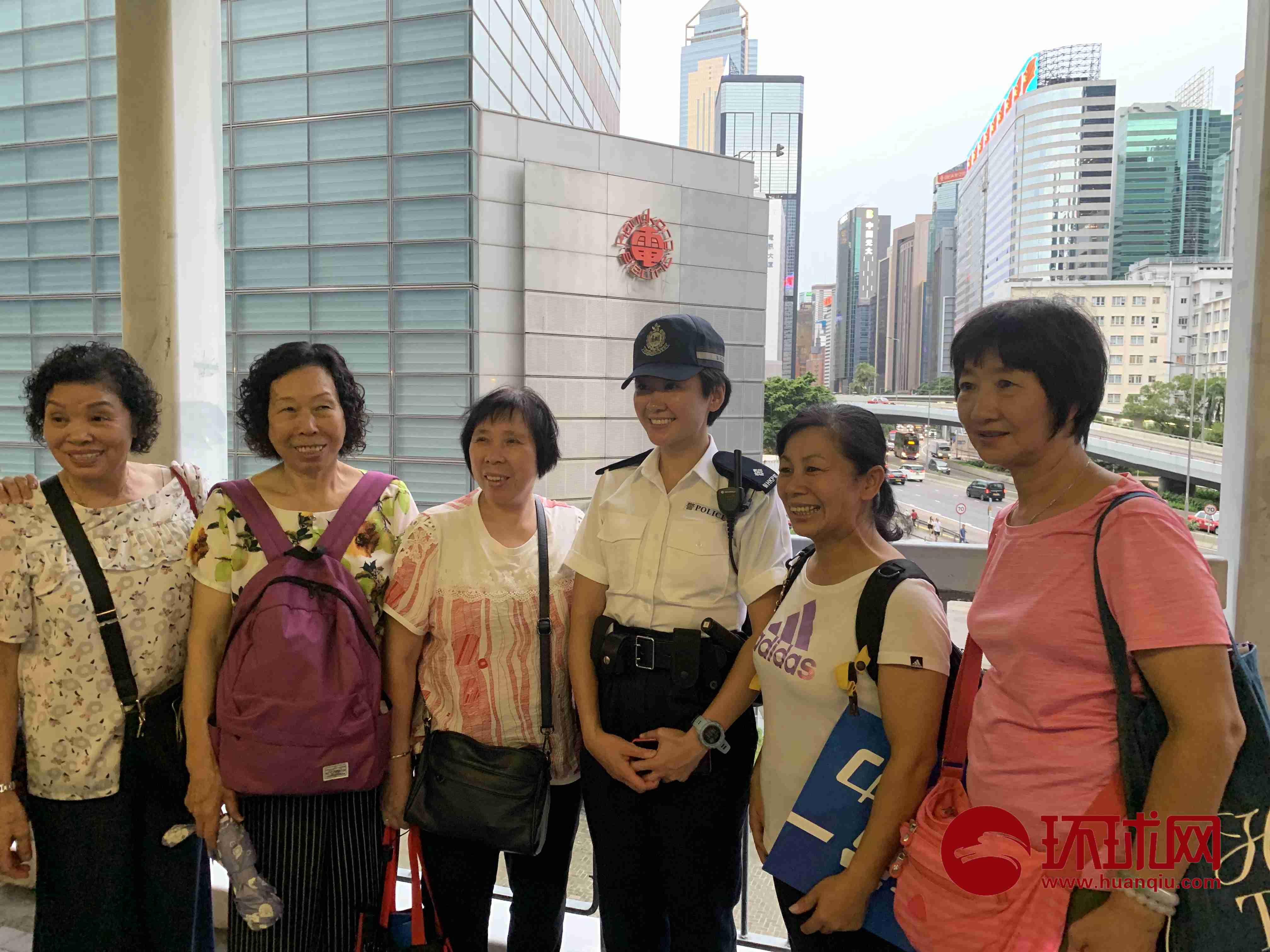 """香港""""反暴力、救香港""""大集会结"""