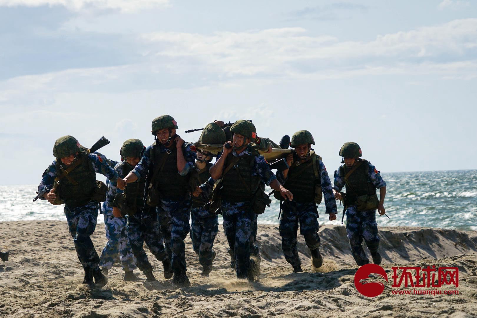 海上登陆赛胜利闭幕,中国队获团体第二