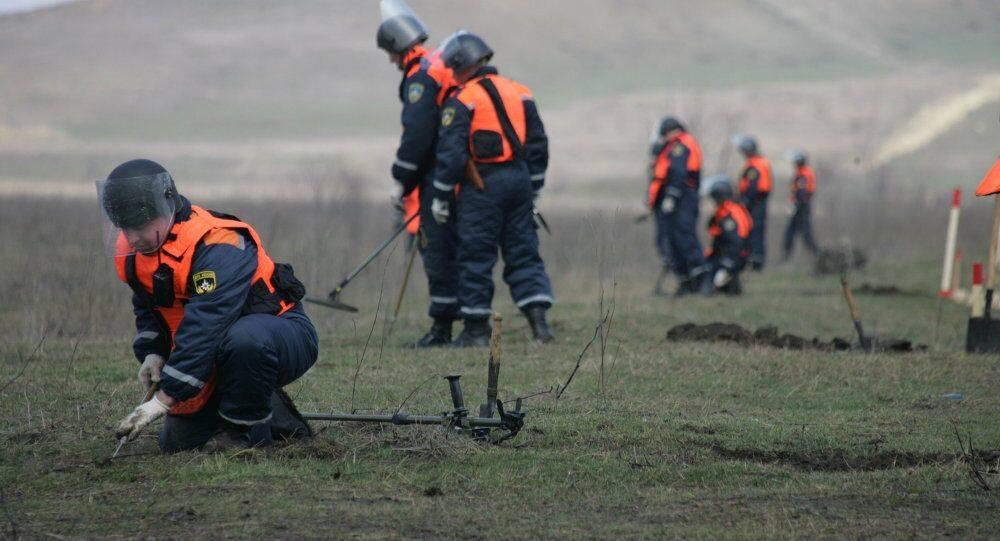 1700枚!俄专家排雷时发现大量二战时期炸弹