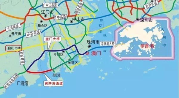 广东:黄茅海大桥力争明年底开工,将加强江珠港澳旅游联动