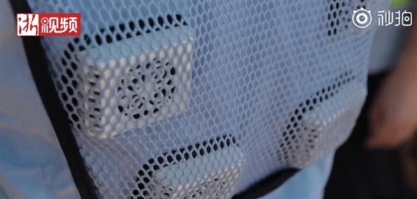 浙江小伙发明可穿戴式空调衣 几秒内降至16℃
