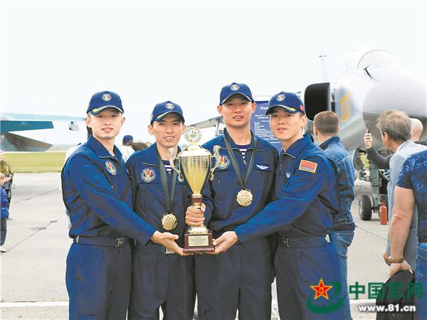 國際軍事比賽中國賽區閉幕 我軍包攬4項目團體第一
