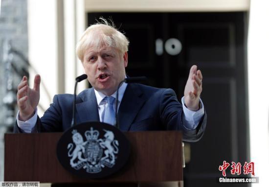 约翰逊将迎上任后首次出访 或表态:国会无法阻止脱欧