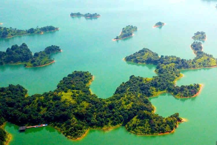 航拍华南第一大湖