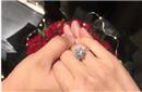 何雯娜晒3克拉大钻戒:已答应求婚 人生第2个起点
