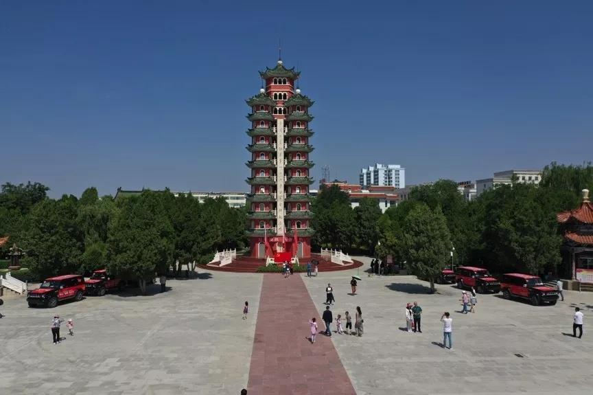 历时近70天,行程超3万里,报道组抵达长征胜利会师地甘肃会宁!
