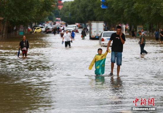 四川盆地西部等地有较强降雨 江汉江南高温持续