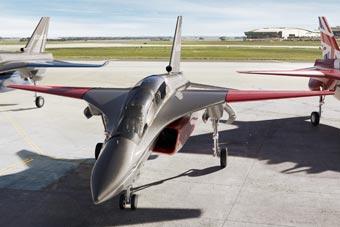 英国为六代机研发新型教练机 机首造型酷似苏-27