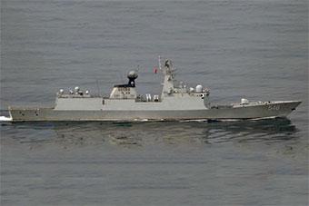 日派遣国产先进反潜机监视穿对马海峡中国军舰