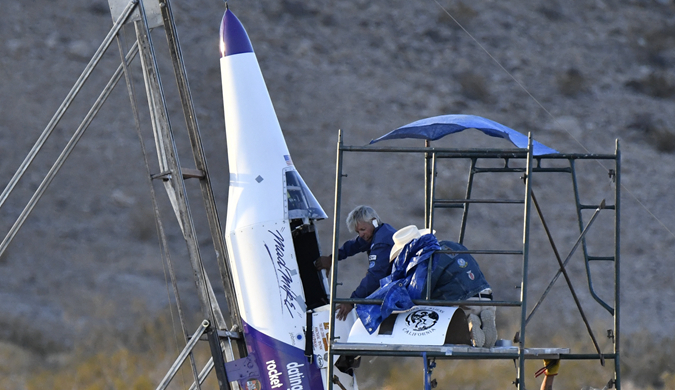 """美国""""狂人""""将乘自制火箭飞上千米高空"""