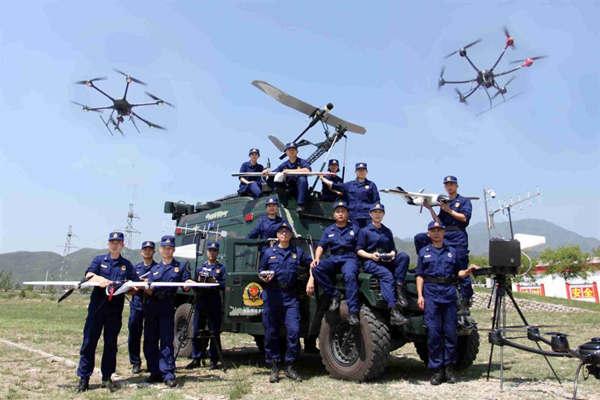 无人机助力消防救援 智慧应急插上科技飞翼