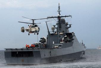 俄海军新锐巡逻舰参加黑海舰队特别演习