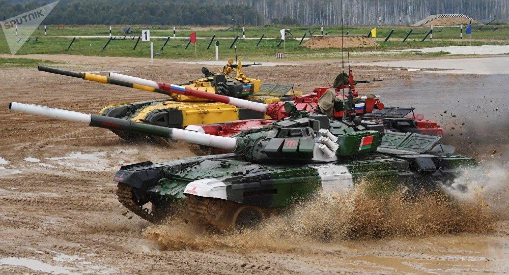 俄防长:欢迎北约参加国际军事比赛 可自带装备