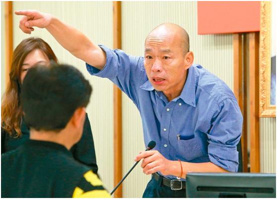 韩国瑜批民进党监控太厉害,自曝座驾可能被装追踪器