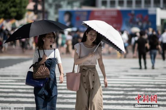 日本高温天气致百余人死亡 9成受害者超65岁
