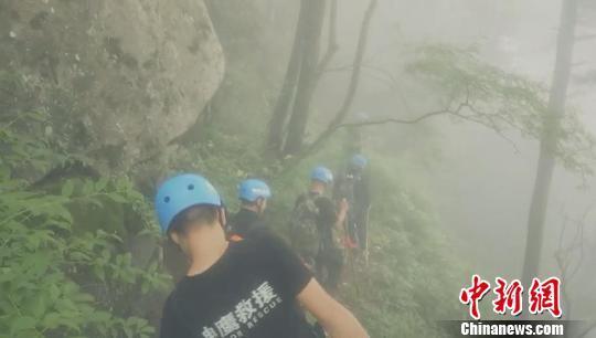 """河南灵宝回应""""游客登山失联"""":生还渺茫 暂停大规模搜救"""