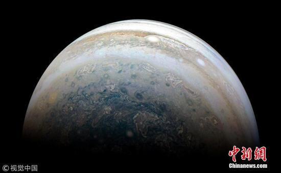 """木星或曾被""""伤了心"""" 45亿年前遭行星撞击改变内核"""
