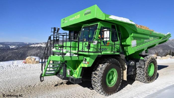 Kuhn Schweiz AG电动采矿车:全球最大的EV