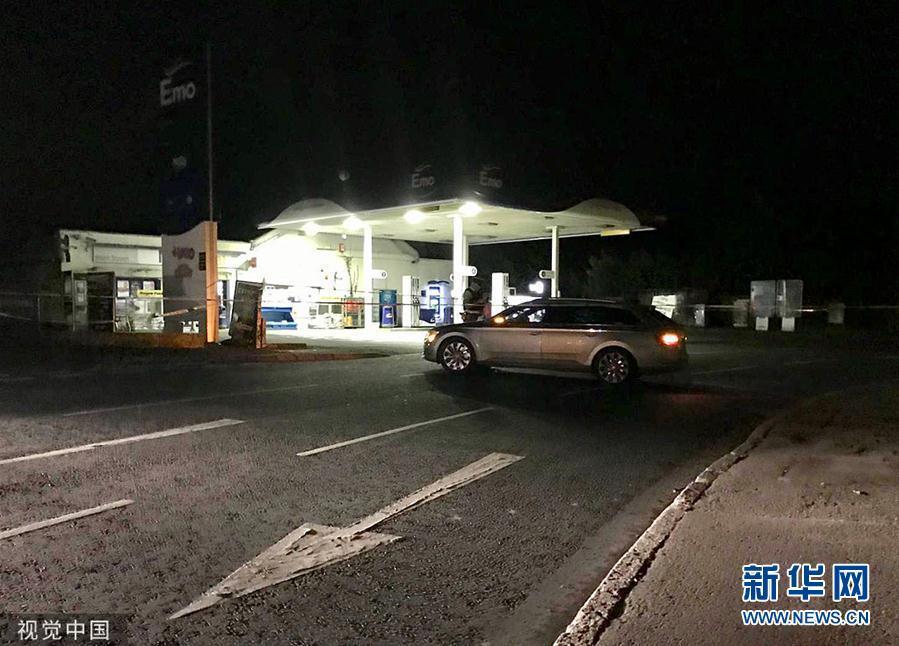 英国北爱尔兰一加油站发生枪击事件 一男子遭枪杀