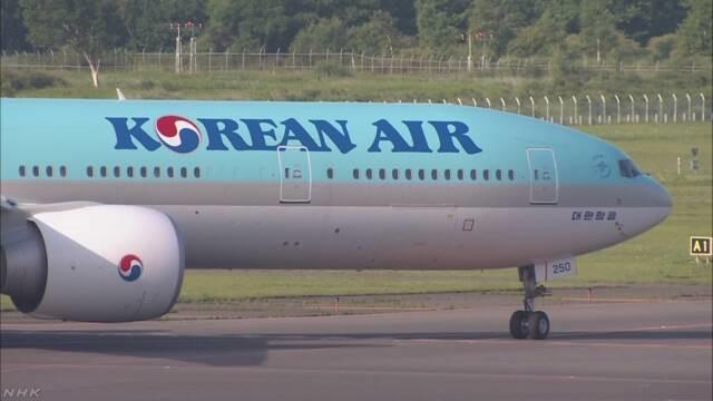 大韩航空将缩减赴日航班 增开赴华航线
