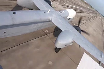 俄最新牵牛星U大型无人机首飞成功 重量达6吨
