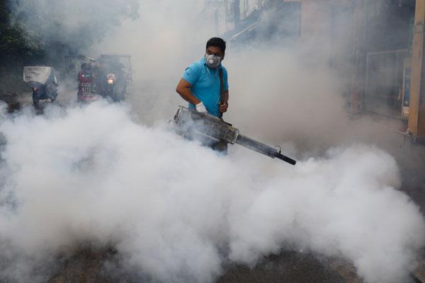 菲律宾爆发登革热疫情 100多名中国工人感染