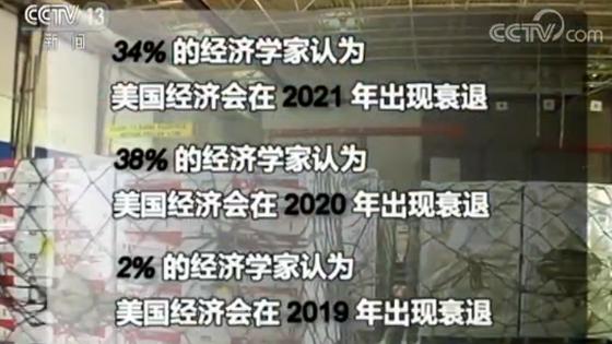 美报告:74%美专家认为关税令美经济衰退