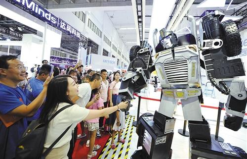 机器人让生活更精彩