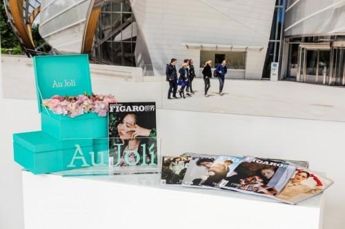 在成长中不断探索 欧茱丽与Louis Vuitton摄影展的