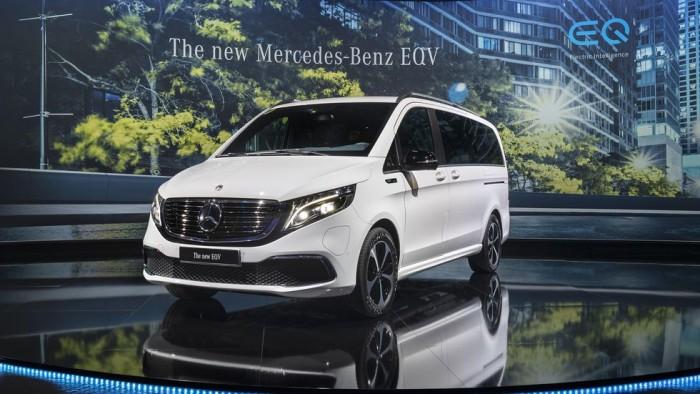 梅赛德斯奔驰公布电动van车型EQV 续航里程250英里