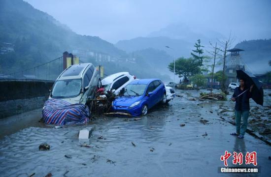四川盆地西部有较强降雨 江汉江南高温天气持续