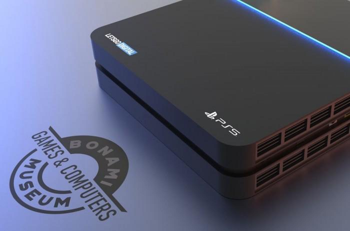索尼PS5外观专利曝光:采用深V造型的散热孔