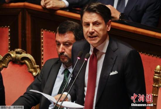 意大利总统接受总理孔特辞呈 展开筹组新政府磋商