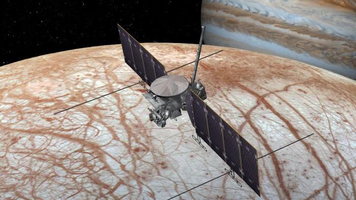 NASA确认向木卫二发送太空探测器