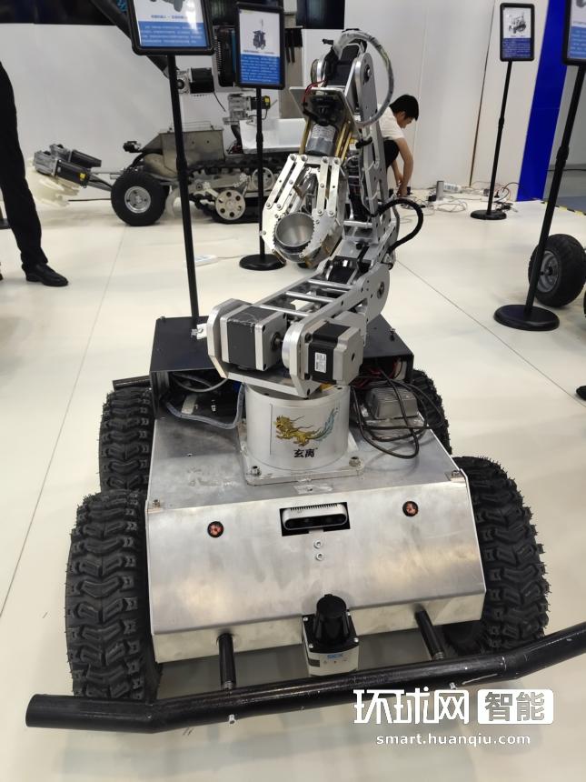 2019世界机器人大会 延达科技携玄离系列产品亮相