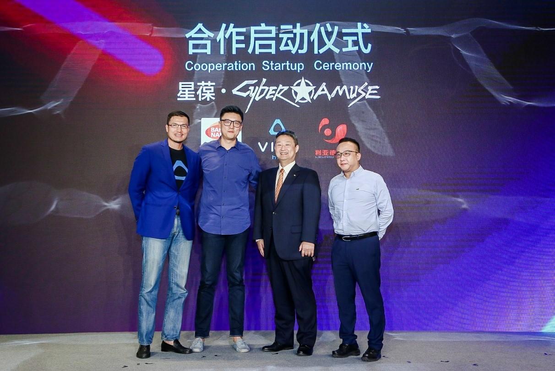 星葆旗下Cyber Amuse虚拟现实体验馆将落地北京
