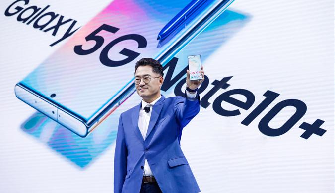 三星Galaxy Note10系列正式在中国发布