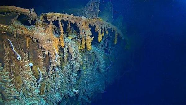潛水員14年來首次造訪泰坦尼克號殘骸 高清鏡頭揭示沉船現狀