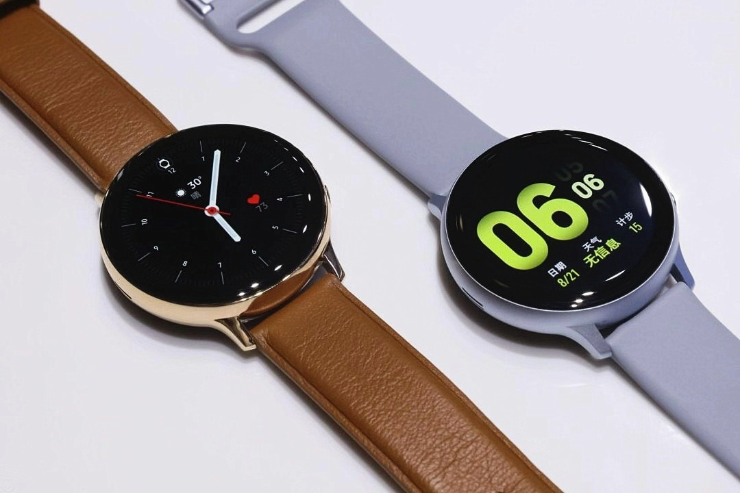 三星智能手表Galaxy Watch Active2正式推出