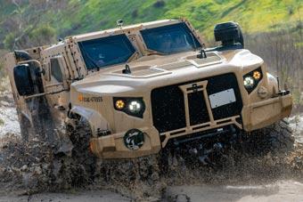 美军测试联合轻型战术车 将在未来装备五万辆