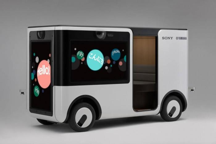 索尼和雅马哈汽车共同开发SC-1 Sociable Cart