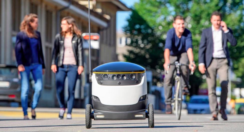 自动送货机器人将进100所美国大学