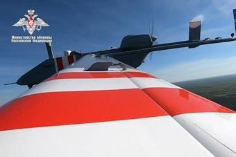 俄新型无人机首飞 将以色列先进无人机国产化